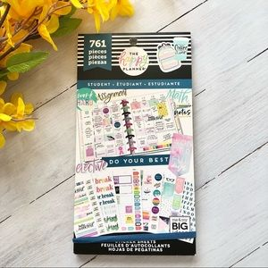 The Happy Planner Student Sticker Book